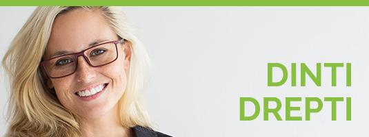 banner dinti drepti - Dreossi dental